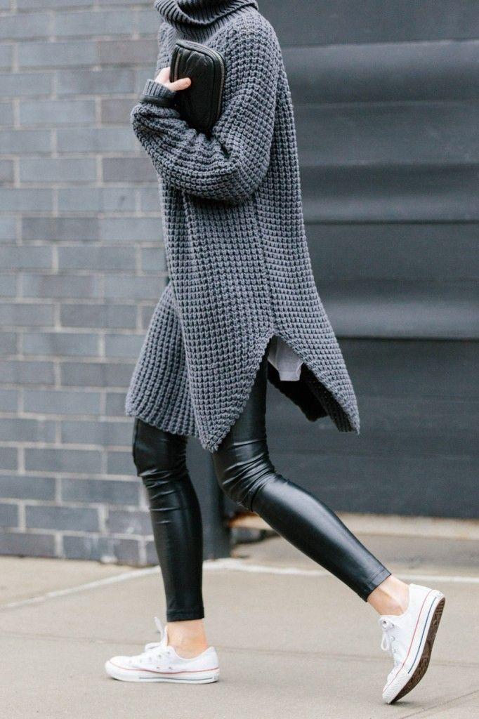 figtyny.com, sweater dress, oversized sweater, turtleneck sweater ...