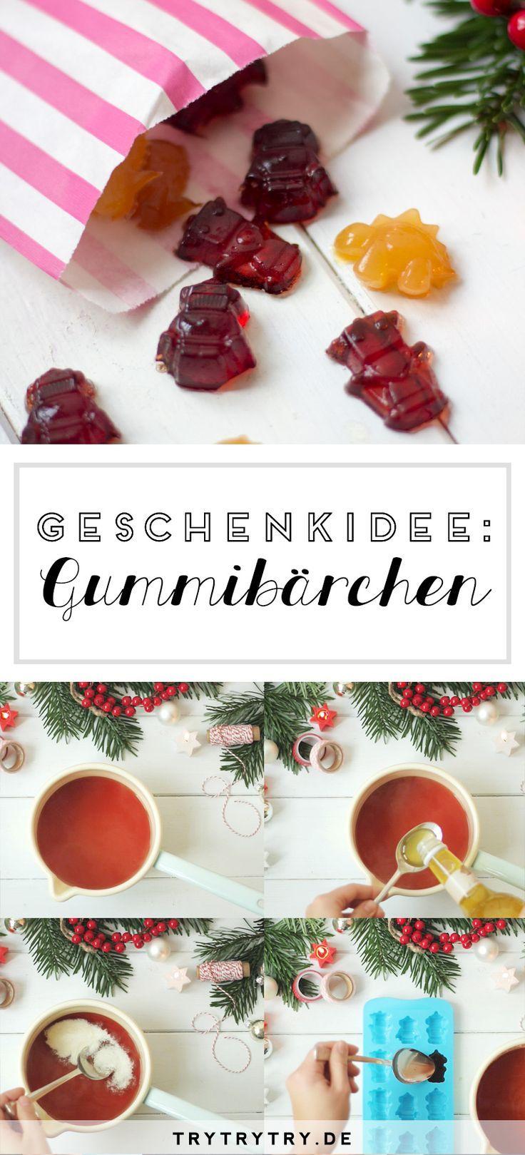 DIY Gummibärchen – kleines Geschenk zu Weihnachten #kleinegeschenkeweihnachten