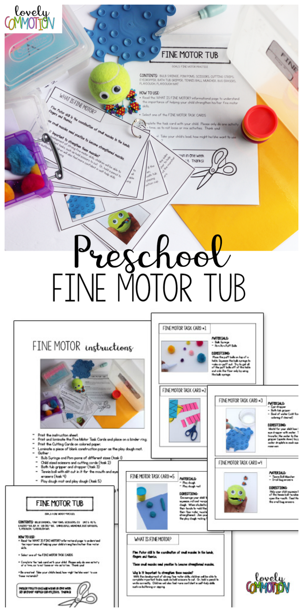 Encourage the Home & School Connection with a Fine Motor Tub | Epic ...