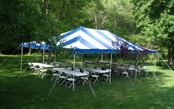 20x30 Party Tent Detroit Michigan Party Rentals Serving