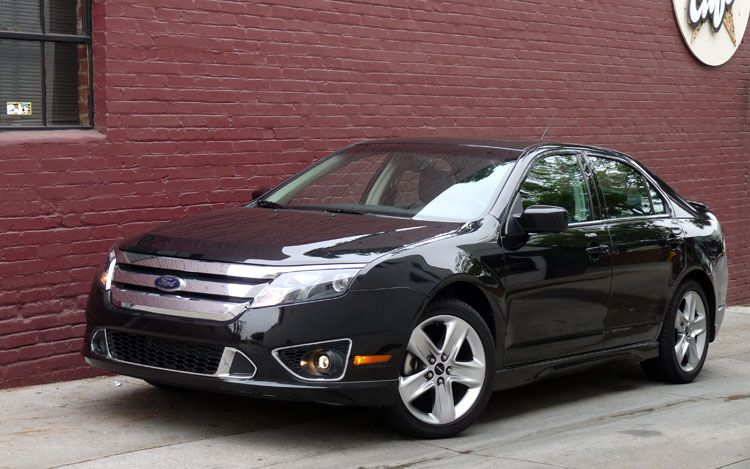 The first Sport version of the Ford Fusion. The 2010 Ford