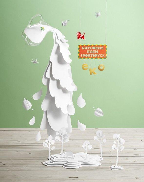 Fideli Sundqvist / Papercraft