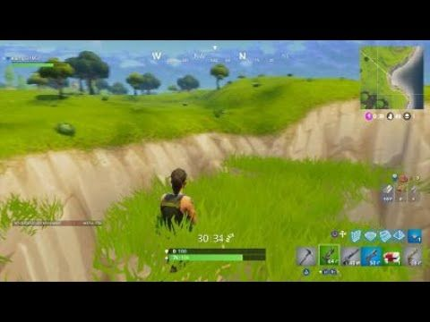 Floating Grass Fortnite Battle Royale Glitch -- Fortnite Battle