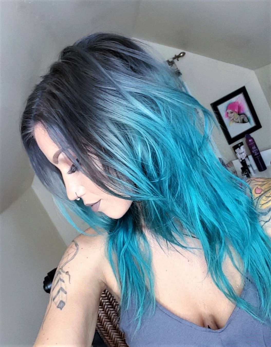 40 Stunning Blue Hairstyles Ideas In 2019 | Hair Color | Hair Color