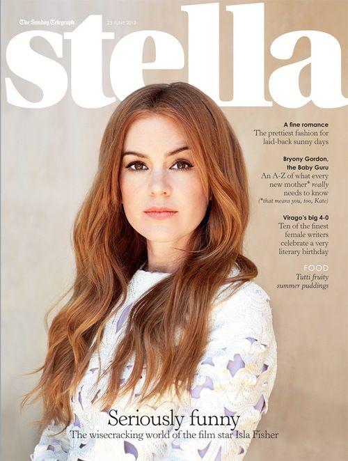 Isla Fisher Red Auburn Hair Actress Pinterest