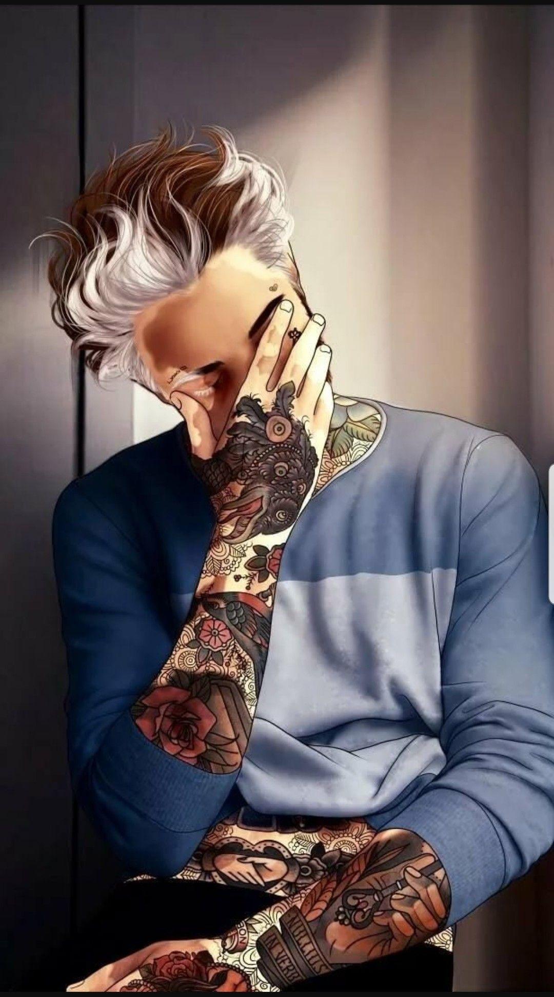 Pin On Anime Crazy Tattoo boy wallpaper hd