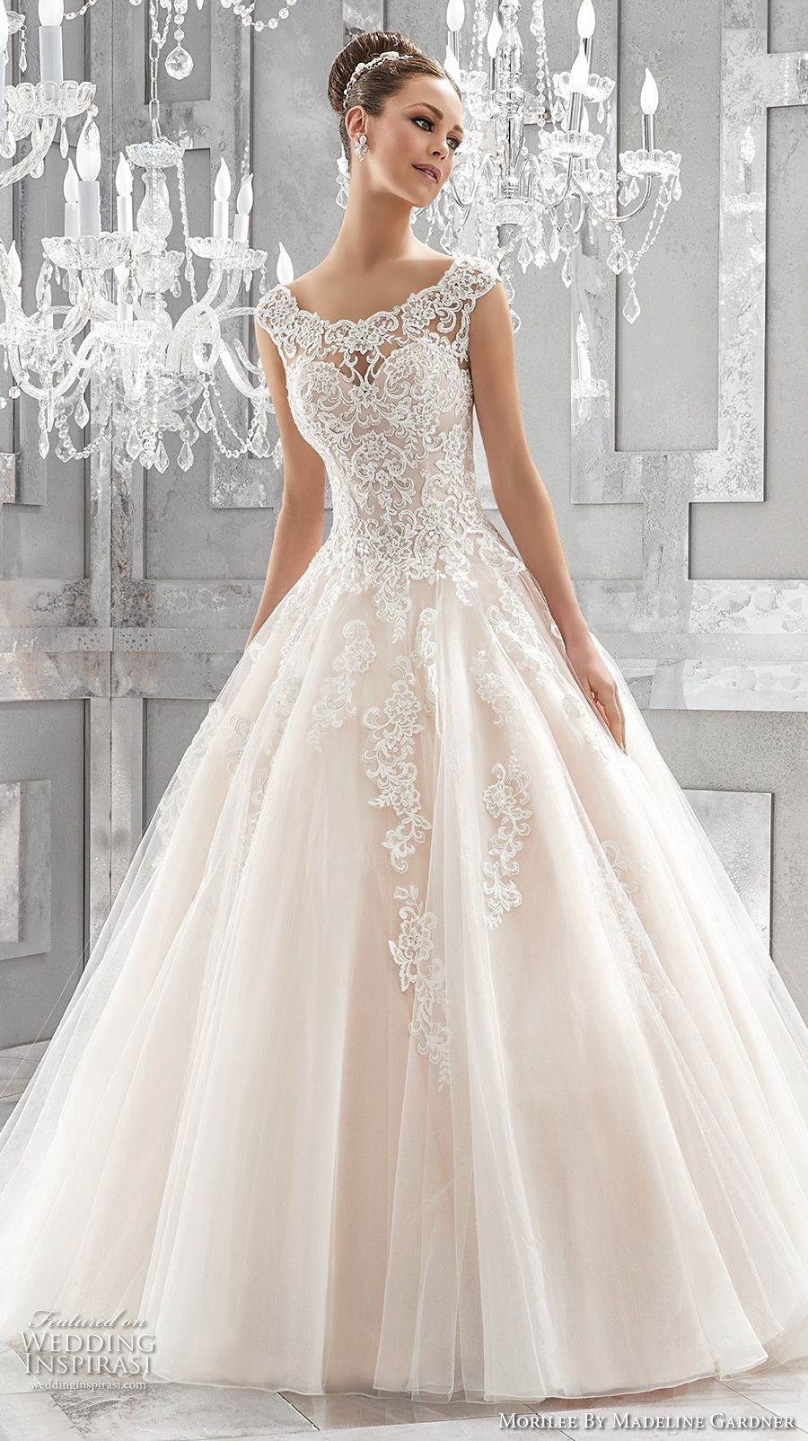 Mori lee madeline gardner wedding dress  Morilee by Madeline Gardner Fall  Blu Bridal Collection  Chapel