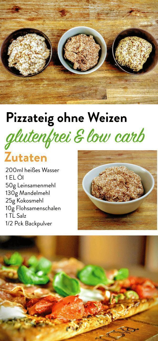 Pizzateig ohne Weizen - Choose Your Level