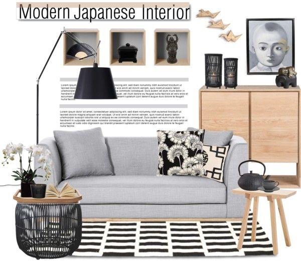 "Bedroom Decor Colors Mood Board Bedroom Interior Design Bedroom Colours With Grey Furniture Black Bedroom Sets: ""interior Whislist 51: Modern Japanese Interior"" By Anna"
