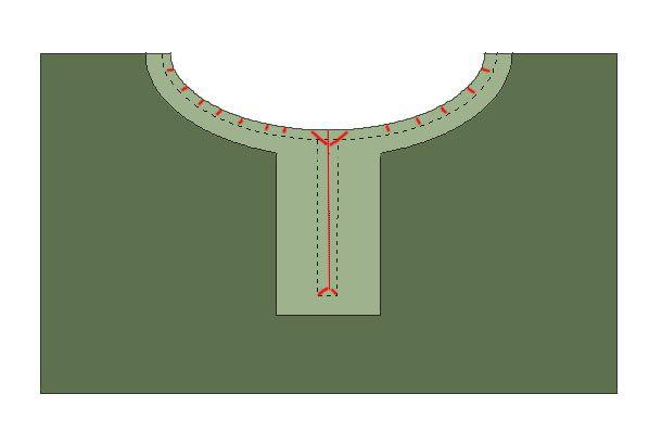 DIY Mittelalter-Tunika (ca. ab 1200) - GewandfantasienGewandfantasien