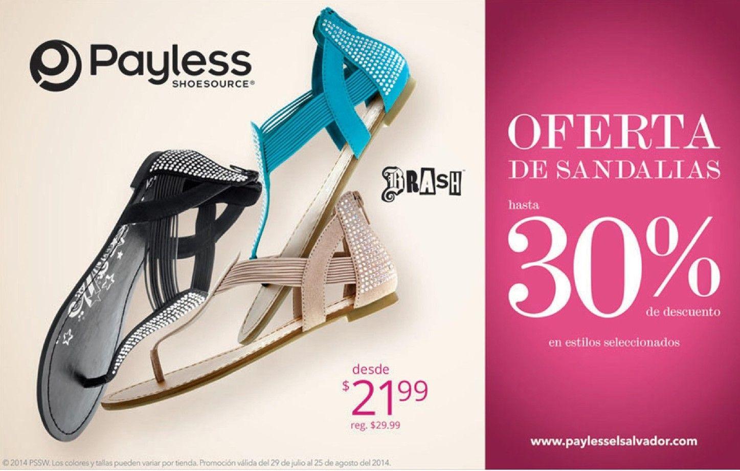 Payless discounts sandalias para damas http://www.ofertasahora.com ...