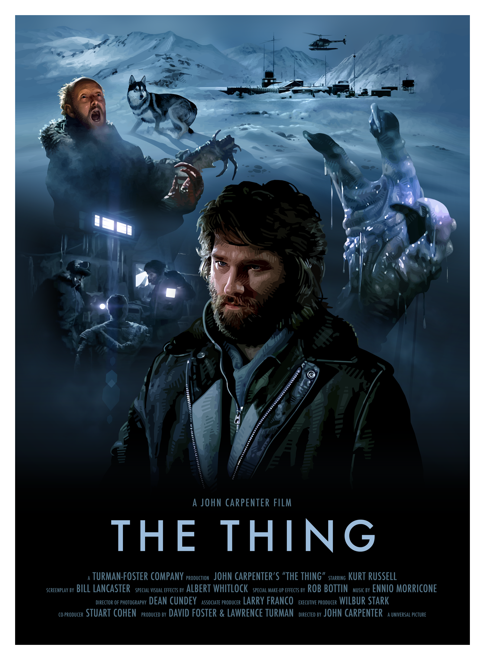 Poster design john foster - John Carpenter S The Thing By Brian Taylor