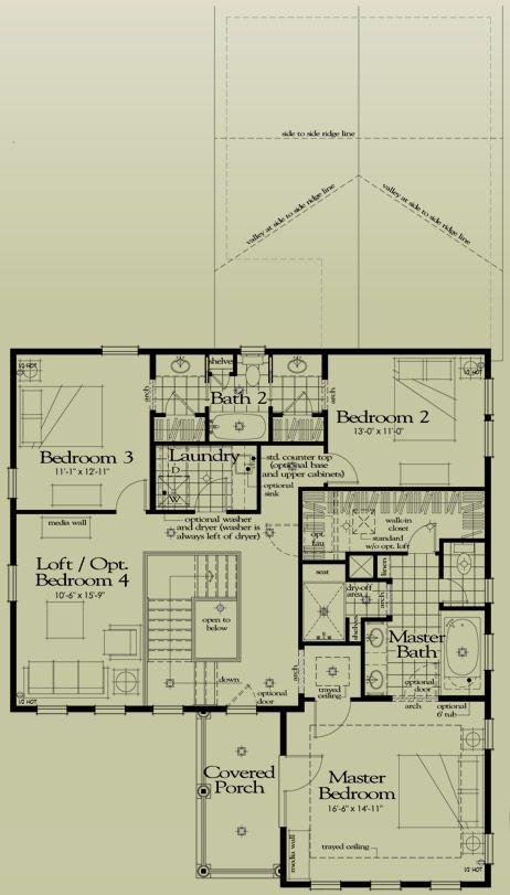 The Charleston (NEW!) Floorplans - Denver New Home Parkwood Homes