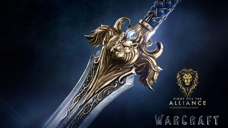 Fight For The Alliance Warcraft Movie Hd Wallpaper In 2019