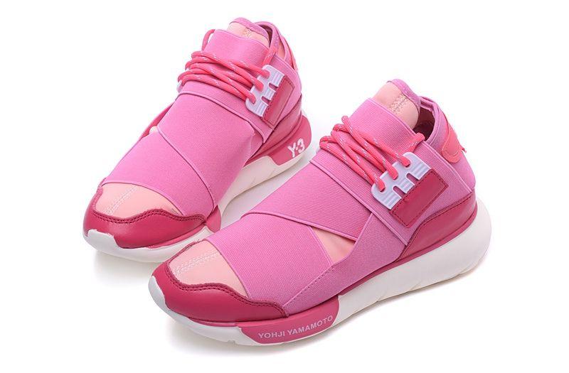 Adidas Y-3 Qasa High Yohji Yamamoto Pink