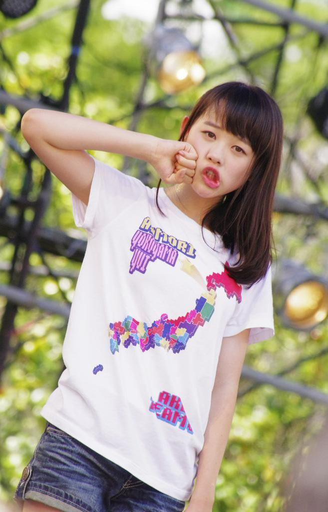 yokoyama yui akb48 team 8 t shirts for women women japanese pop