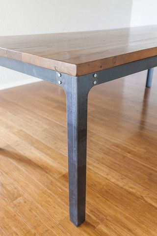 Industrial Dining Table Legs # 28-inches tall | Pinterest | Tisch ...