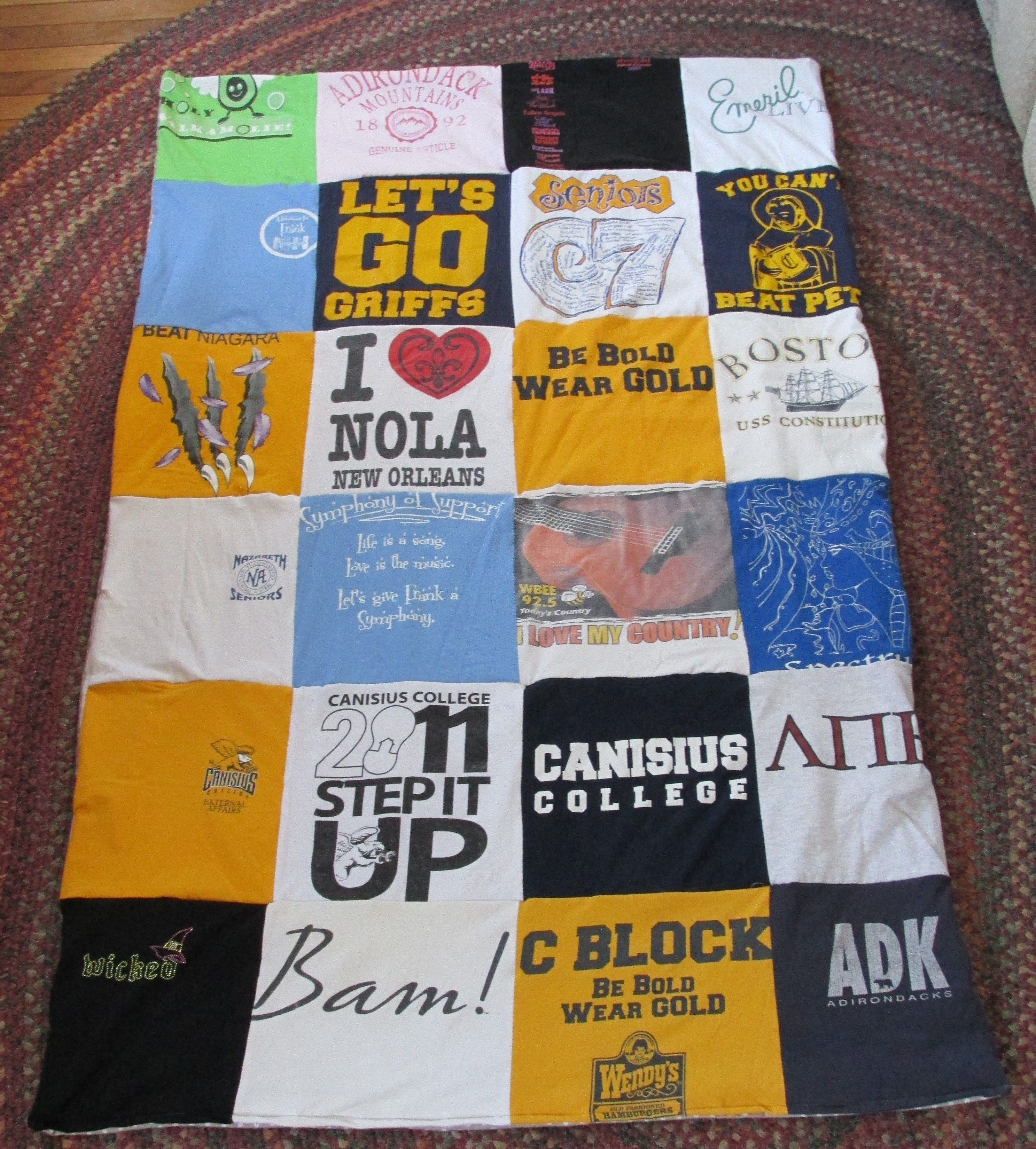 Finished quilt shirt quilt quilts tshirt quilt