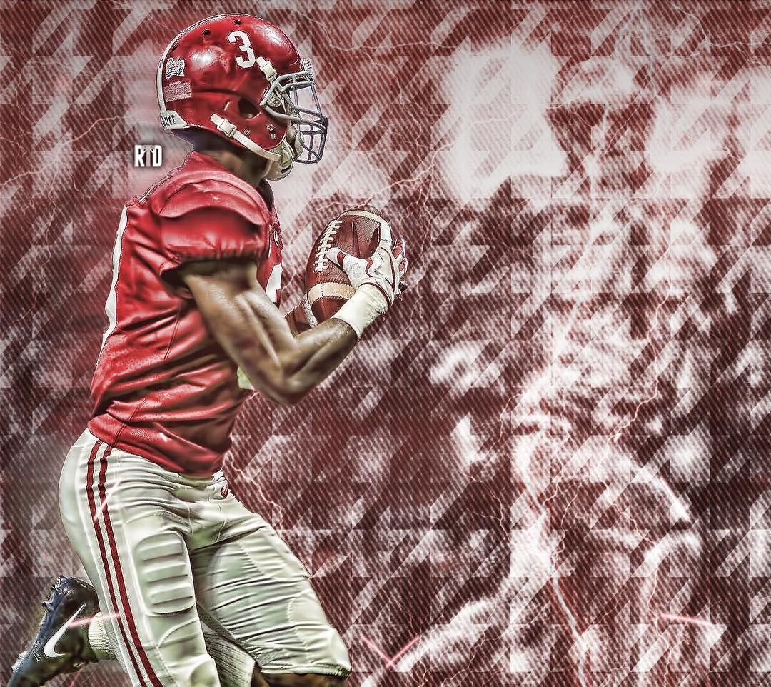 Calvin Ridley 3 Of The Alabama Crimson Tide Roll Tide Alabama Crimson Tide Tide