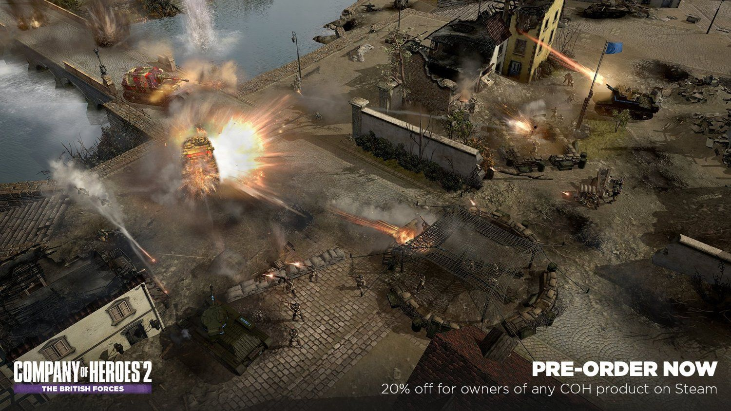 New Games Company Of Heroes 2 The British Forces Pc Company