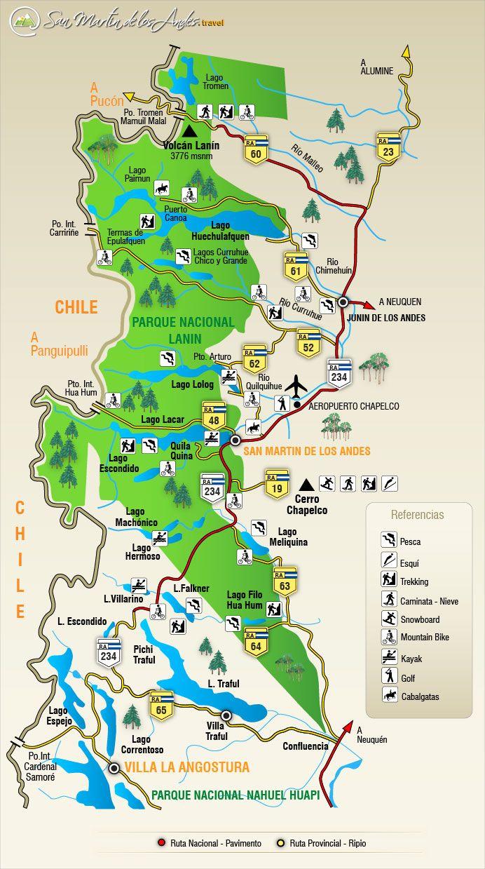 Circuito Turistico : Circuito de los lagos turismo argentina