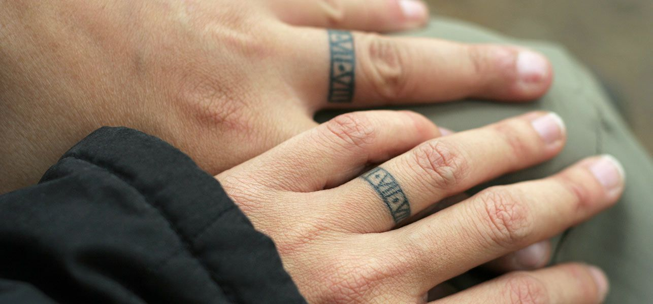 Ring Tattoos Are The Best Ideas For Wedding Rings A Great Alternative Those