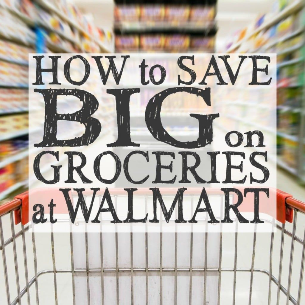 How to Save Big on Groceries at Walmart | Extreme Couponing at Walmart