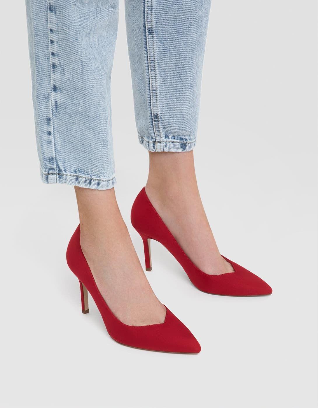 rode hakschoenen