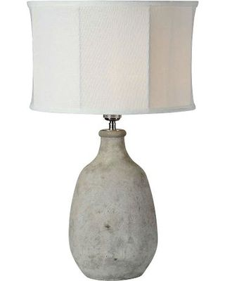 Gray Table Lamps Captivating Zoeconcretegraytablelamp 320×400  Lighting  Outdoor Design Decoration