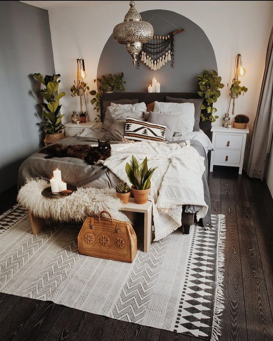 57 bohemian bedrooms that'll make you want to redecorate asap (with images) | home bedroom