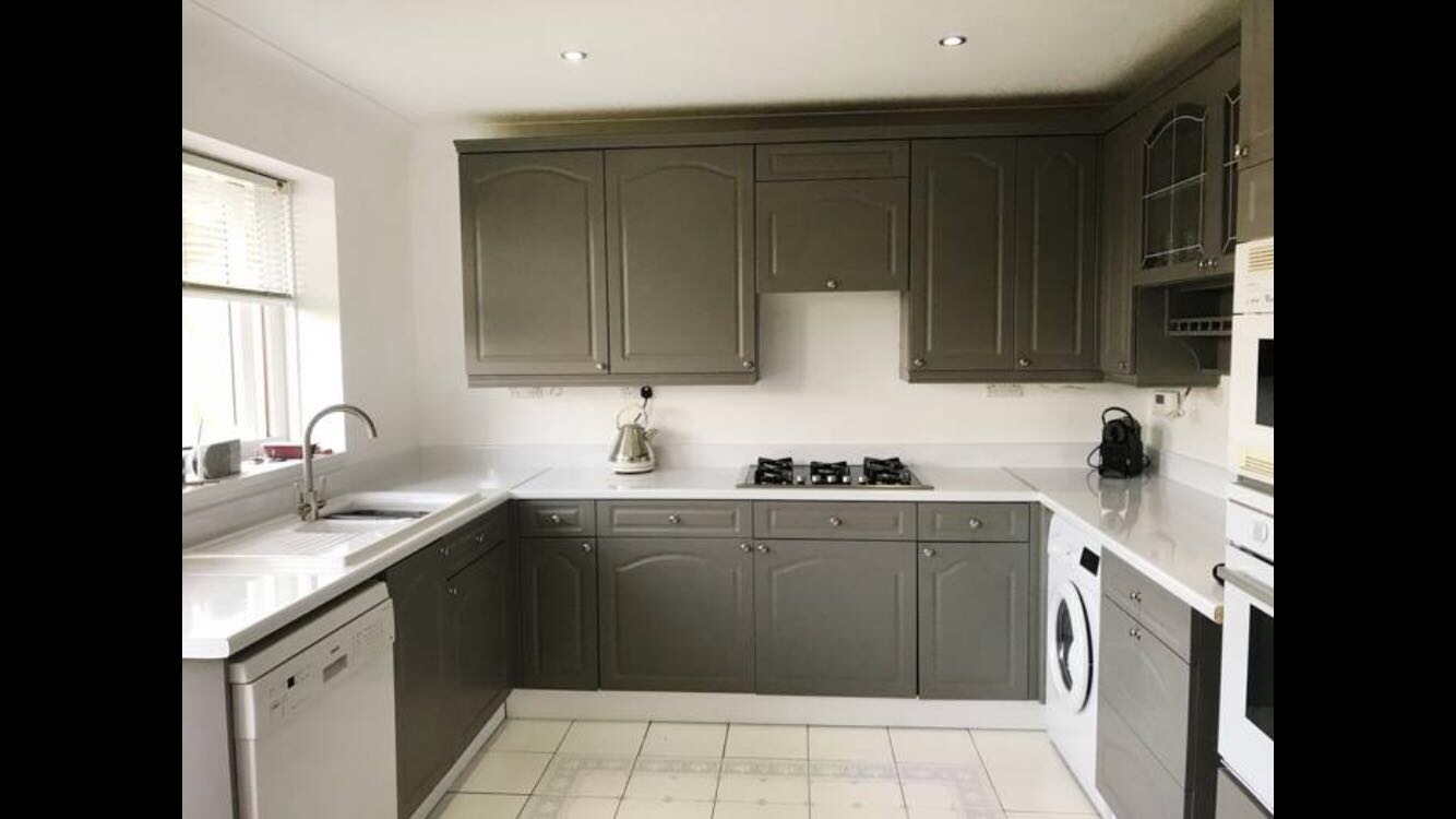 Best Painted Kitchen With Farrow And Ball Moles Breath Paint 400 x 300
