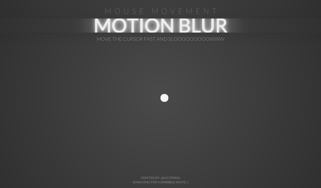 Add motion blur to a mouse cursor with this script from
