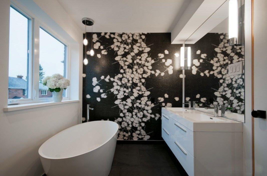 modern bathroom design 2017 3 tendances salles de bain 2017 pinterest bathroom designs. Black Bedroom Furniture Sets. Home Design Ideas