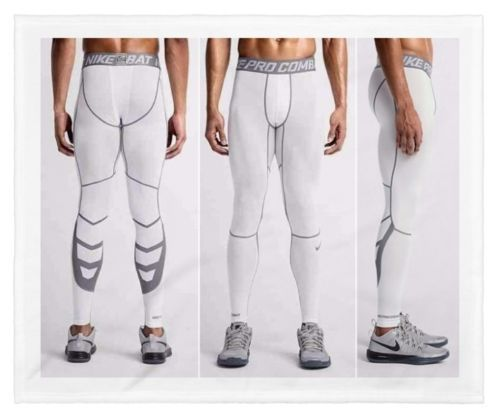 edfa9f9d4c NIKE PRO COMBAT HYPERCOOL MEN'S COMPRESSION TIGHTS PANTS SIZE XL $55 NEW # NIKE #BaseLayers