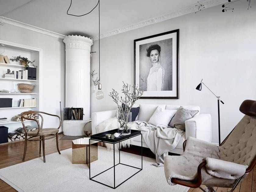 Turn of the century home with modern details - via cocolapinedesign.com