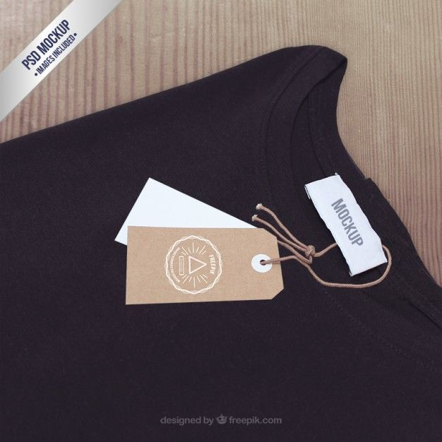 2444+ T Shirt Label Mockup Yellow Images Object Mockups