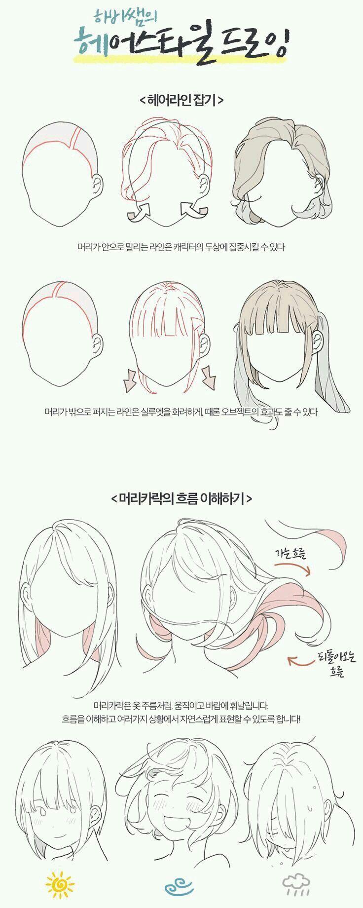 Photo of Drawing Hair Tips