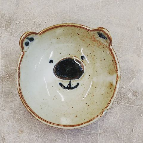 Photo of Bowls for cats and bowls for bears #mr_millys #pottery #ceramics #catbowl #bearb…