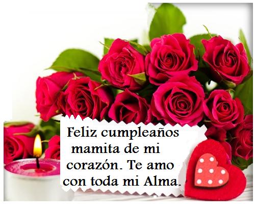 mensajes de cumpleaños para mi madre querida Imagenes De Cumpleaños Pinterest