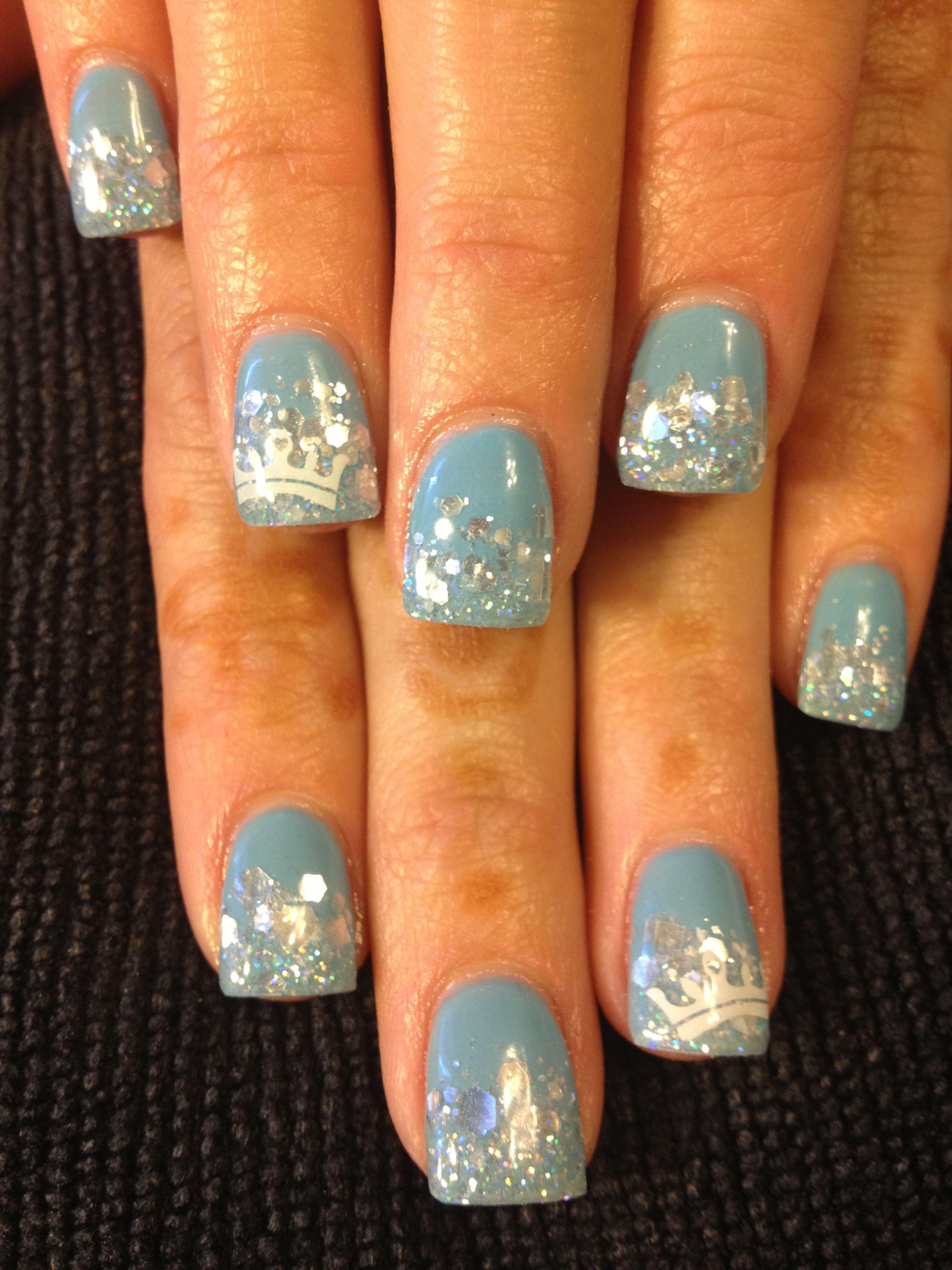 princess nails. cinderella