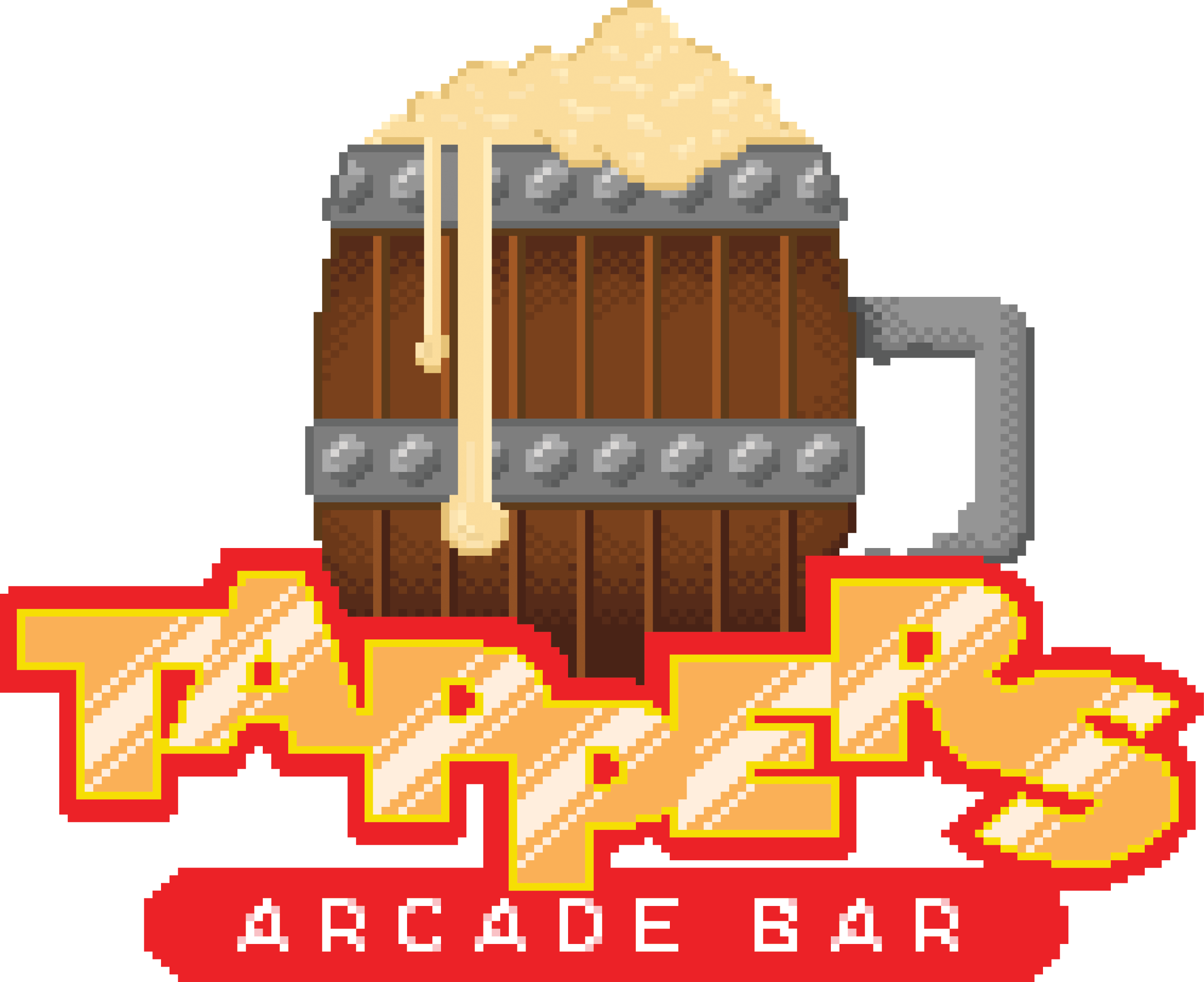 Tappers Fountain Square buy a drink play arcade games for