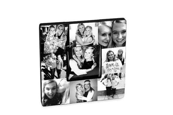 Picture Frame Collage Photo Frame Unique by InitialRemembrance ...