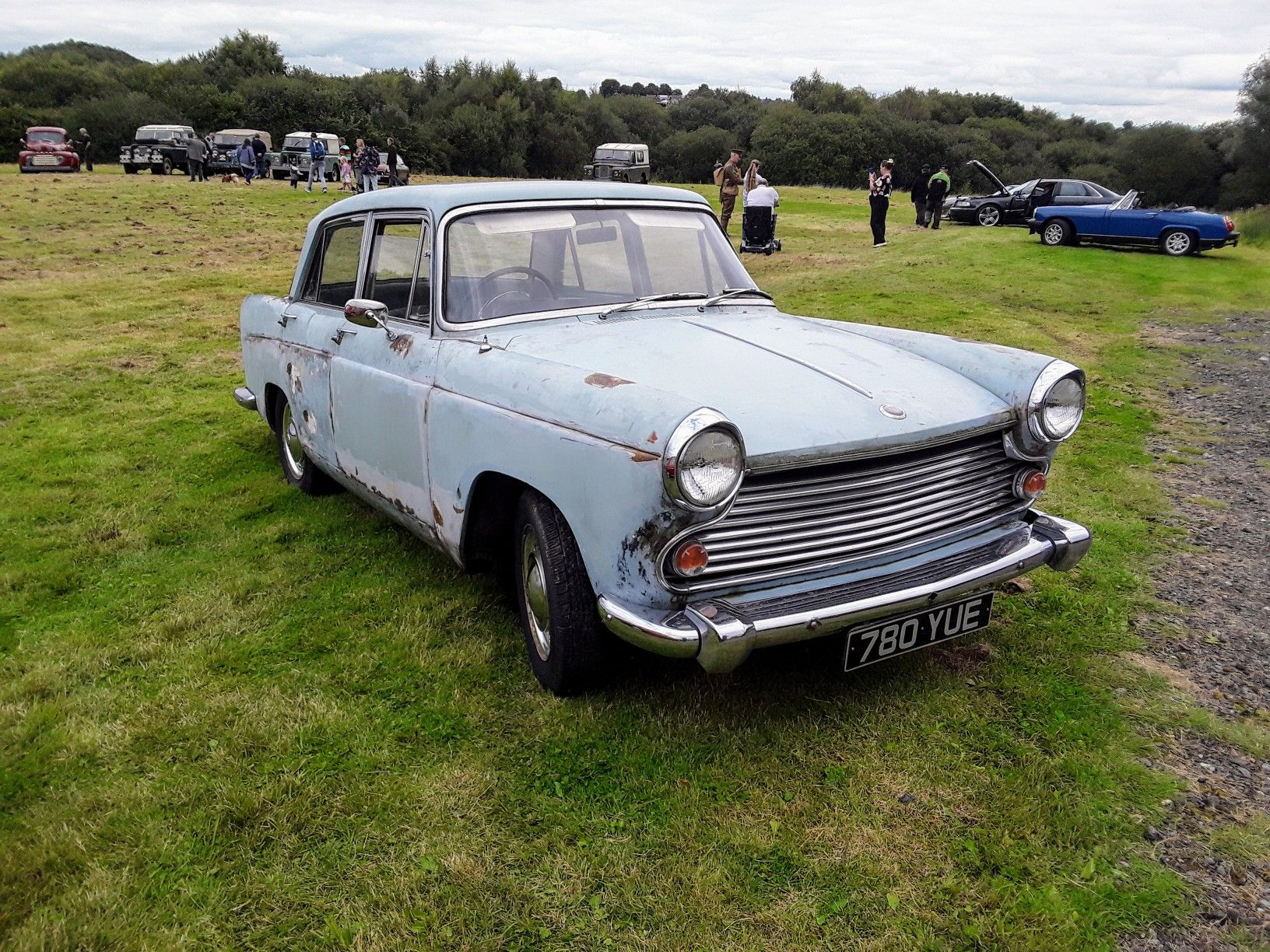 1. A Morris Oxford ( Year Unknown ). Apedale Car Show, Staffordshire, England.