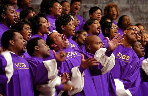 Image result for black choir pictures