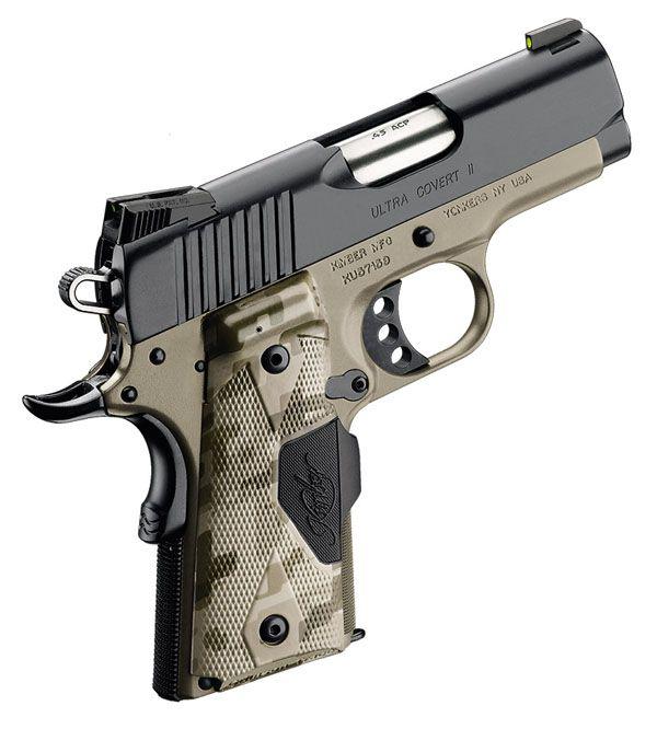 Kimber Ultra Covert II  45 ACP   nic1911   Hand guns, Guns