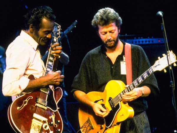 Eric Clapton Chuck berry, Eric clapton, Eric
