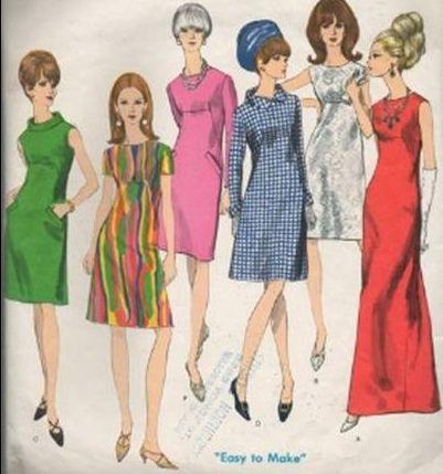 37+ Modelli abiti anni 60 ideas