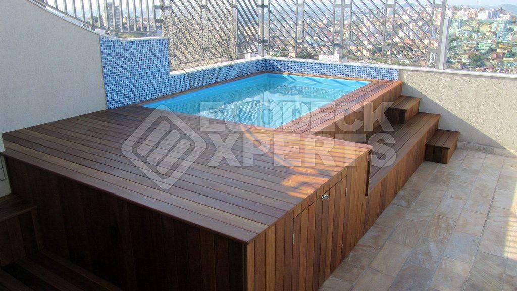 Amado piscinas em deck de madeira - Pesquisa Google | Decoração  KM85