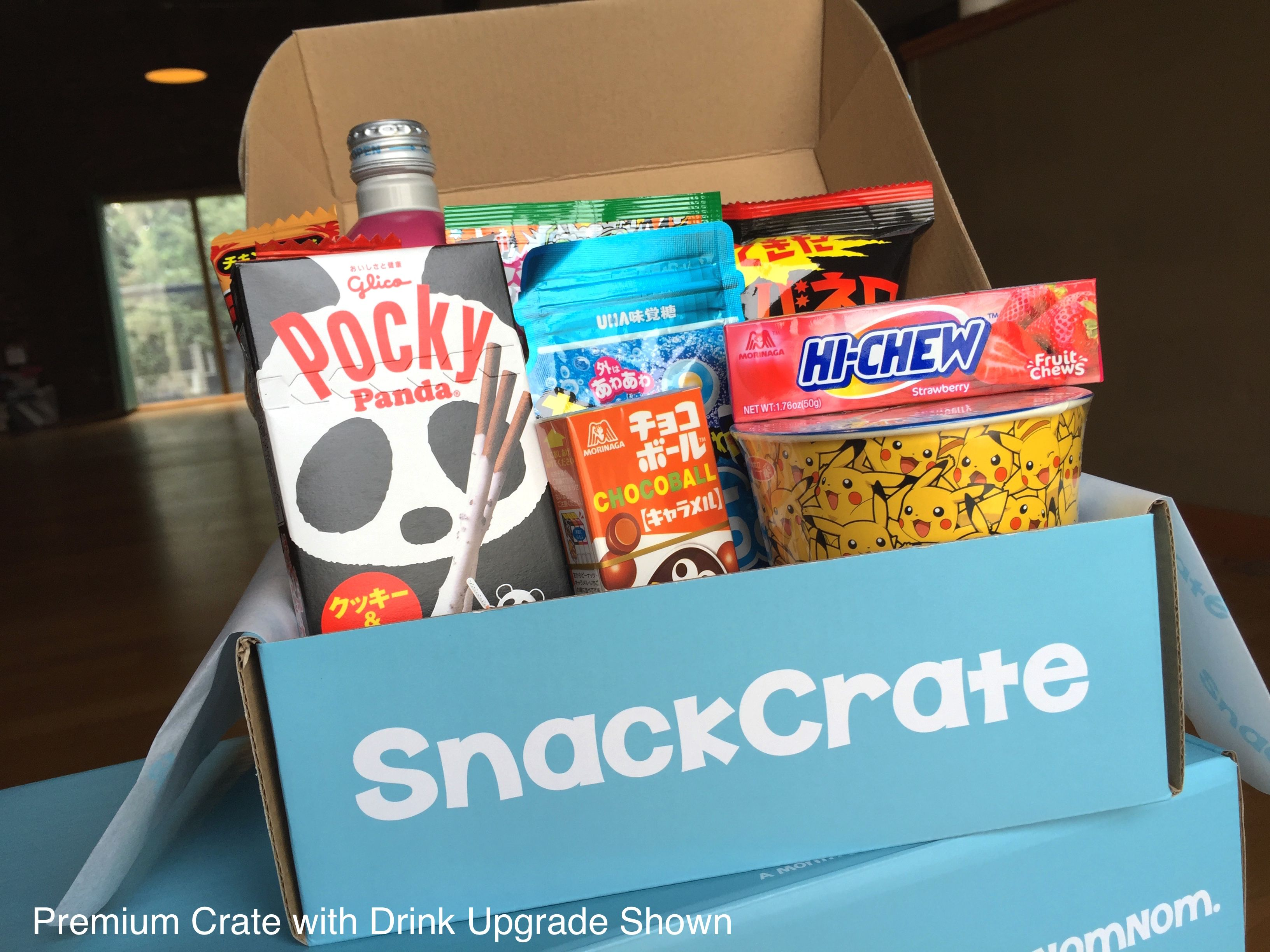 Snackcrate Snacks From Around The World Monthly Boxes