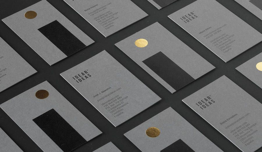 Idear Ideas Brand Identity Inspired by the Moon – Fubiz Media